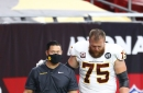 Washington Injury Update: Brandon Scherff expected to miss 3-5 weeks with sprained MCL