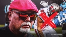 Bruce Arians 'not concerned' with using targeting Rob Gronkowski on offense
