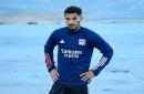 Arsenal 'suffer blow in Houssem Aouar pursuit'