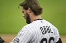 Rockies' David Dahl goes on injured list; Scott Oberg has surgery for blood clots