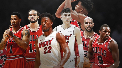 Heat's Jimmy Butler shouts out old Bulls stars for molding him into leader for Tyler Herro