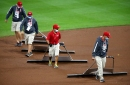 PHOTOS: Cincinnati Reds grounds crew shows why its the best in baseball