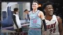 Video: Heat star Jimmy Butler hilariously imitates Tyler Herro after career night