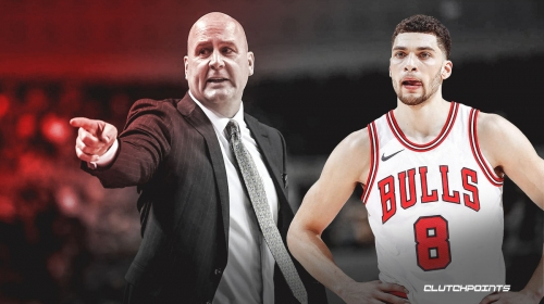 The surprising phone call Zach LaVine made after Jim Boylen was fired by Bulls