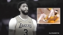 Lakers news: Anthony Davis suffers ankle injury in 4th quarter vs. Nuggets