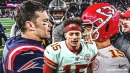 Chiefs' Patrick Mahomes on how rivalry with Lamar Jackson reminds him of facing Tom Brady