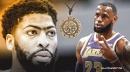 Lakers' LeBron James gives crash course on reading Anthony Davis' unibrow