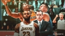 Dwight Howard's double-double in surprise start for Lakers draws praise from LeBron James, Frank Vogel