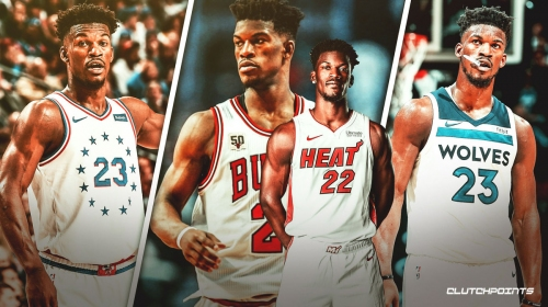 Jimmy Butler making Bulls, Timberwolves, Sixers look foolish as he leads Heat on playoff run