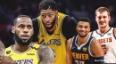 Lakers' Anthony Davis questionable for Game 5 vs. Nuggets with ankle injury