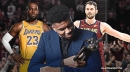 Cavs' Kevin Love speaks out on Lakers' LeBron James losing MVP to Giannis Antetokounmpo