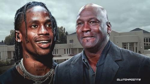 Michael Jordan let Travis Scott film 'Franchise' music video at Illinois mansion
