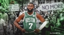Celtics' Jaylen Brown delivers final bubble shout out against racial inequality