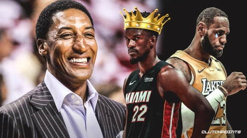 Why Heat have the 'edge' over Lakers in NBA Finals, per Scottie Pippen