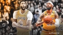 Lakers' Anthony Davis reacts to Markieff Morris calling him best player in the world