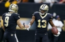 Michael Thomas, 5 other New Orleans Saints starters ruled out of game vs. Detroit Lions