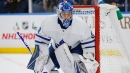 Maple Leafs' Dubas responds to Frederik Andersen trade noise