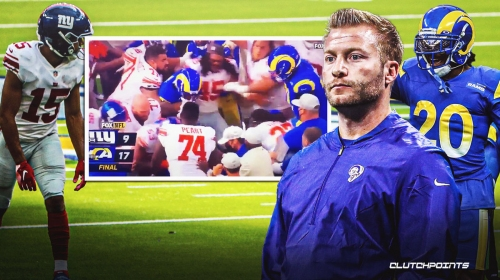Sean McVay reveals what he told Jalen Ramsey after Golden Tate fight