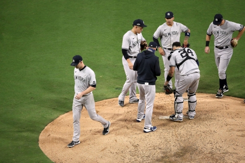 Yankees put J.A. Happ in a bad spot and it cost them a chance to push the Rays to the brink