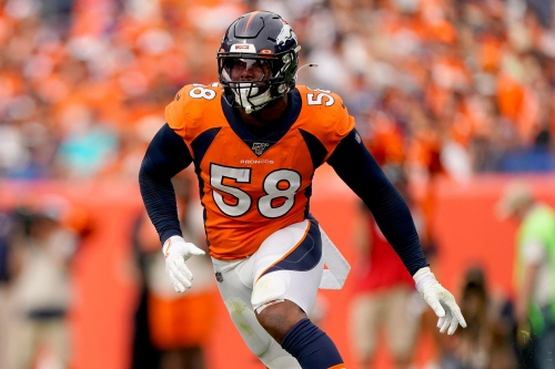 "Broncos outside linebacker Von Miller on returning to field in December: ""If I can play, I'm going to play"""