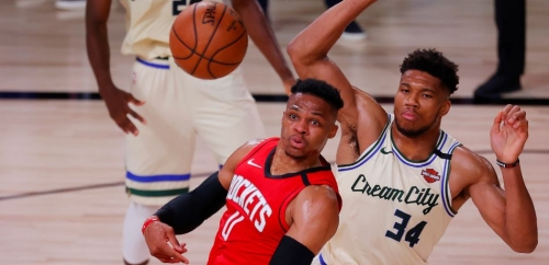 NBA Rumors: Bucks Could Pair Giannis Antetokounmpo With Russell Westbrook Next Season