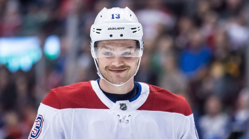 Max Domi on swapping his Habs jersey for a Blue Jacket