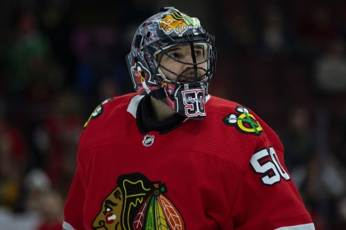 Column: Have the Blackhawks already shut the door on next season's playoffs? The Corey Crawford decision suggests they might have.