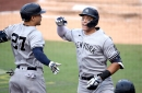 WATCH: Aaron Judge gives the Yankees a lead in Game 5 of the ALDS