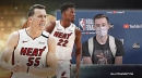Heat's Duncan Robinson speaks out on relationship with Jimmy Butler while wearing Goran Dragic shirt