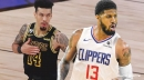 Clippers star Paul George offers up words of encouragement for Lakers' Danny Green