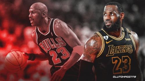 LeBron James speaks out on his 'love' for Michael Jordan, constant comparison