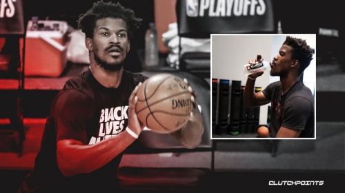 Heat star Jimmy Butler already back in the gym one day after Finals loss