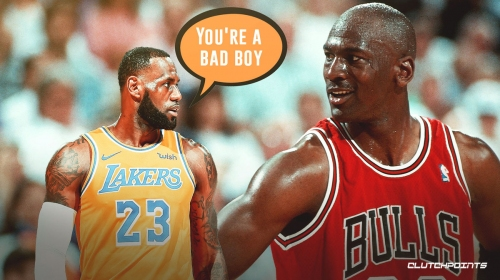 Lakers' LeBron James has never admitted to being better than Michael Jordan, believes MJ is a 'bad boy'