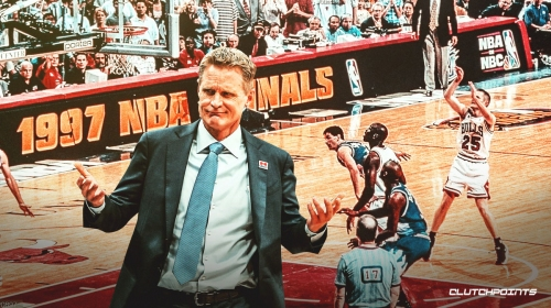 Warriors' Steve Kerr reveals how his game-winning shot in '97 Finals changed his life