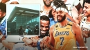 JaVale McGee gives behind the scenes look at Lakers after winning title