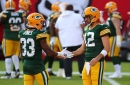Aaron Rodgers channels 'Key & Peele' with TD celebration against Buccaneers