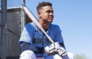 Mariners prospect Julio Rodriguez has playoff goals in Seattle. But first, he's making up for lost time in Arizona.