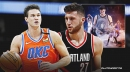 Danilo Gallinari asks Twitter where he should go in free agency, Jusuf Nurkic responds