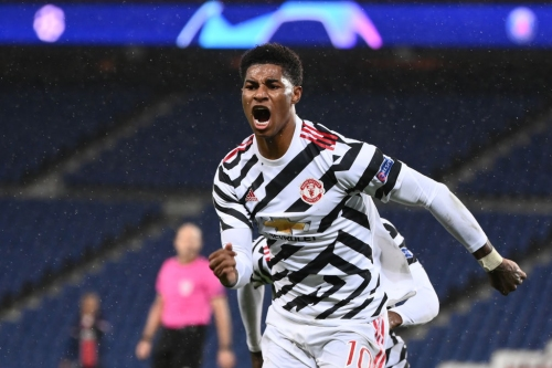 Marcus Rashford criticises Manchester United's decision-making in win against Paris Saint-Germain