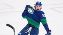 Canucks' Gaudette hoping to prove himself worthy of Bure's No. 96