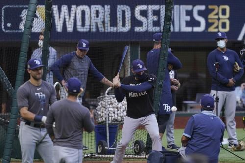 World Series Game 1: Live box score Dodgers vs. Rays