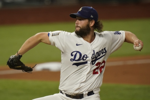 Kershaw, Dodgers take Game 1 over Rays