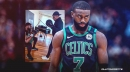 Jaylen Brown's grandfather convinced him to go to NBA bubble with Celtics