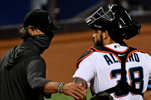 Catcher options for the 2021 Marlins