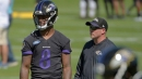 Ravens QB coach on Lamar Jackson throwing mechanics | VIDEO