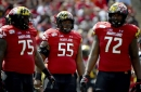Maryland OL Austin Fontaine returns to team after opting out because of COVID-19 concerns