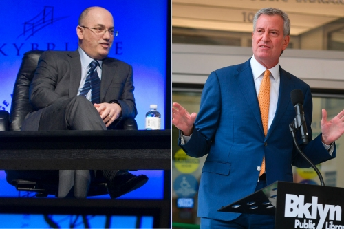 Steve Cohen's Mets purchase will have to go through Bill de Blasio
