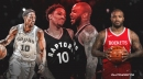 Spurs' DeMar DeRozan, Rockets' PJ Tucker war over sneaker King title