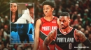 Video: Blazers star Damian Lillard hilariously calls out Anfernee Simons for not telling him about girlfriend