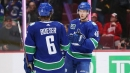 Canucks lead Canadian clubs on Western Conference odds